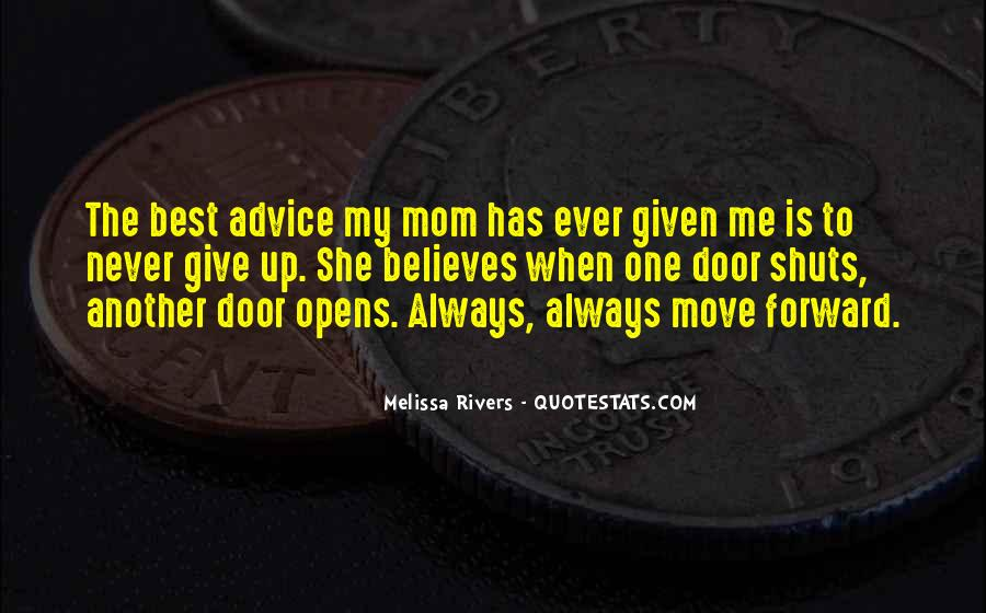 Quotes About Not Giving Up But Moving On #167886