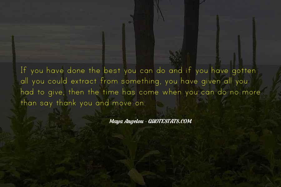 Quotes About Not Giving Up But Moving On #236158