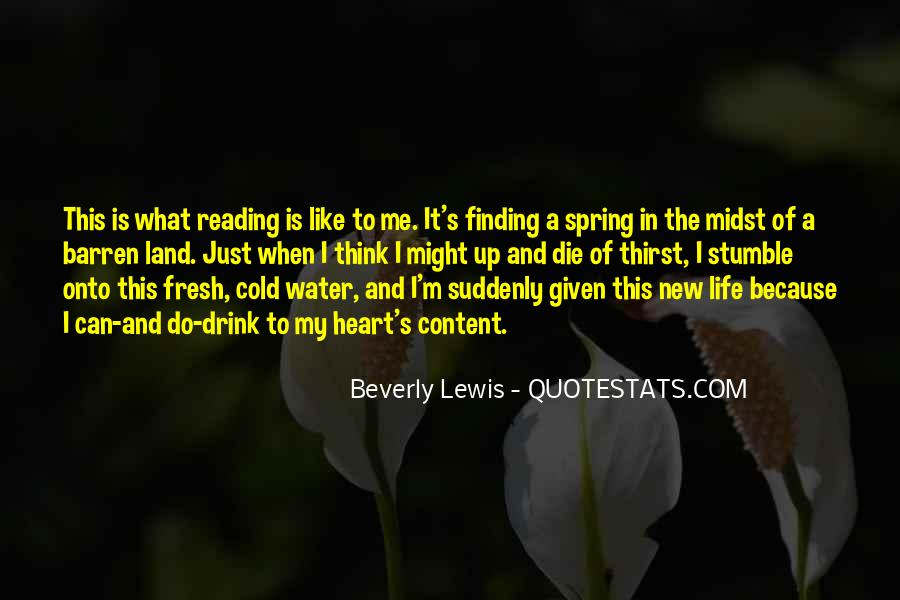 Quotes About New Life In Spring #872387