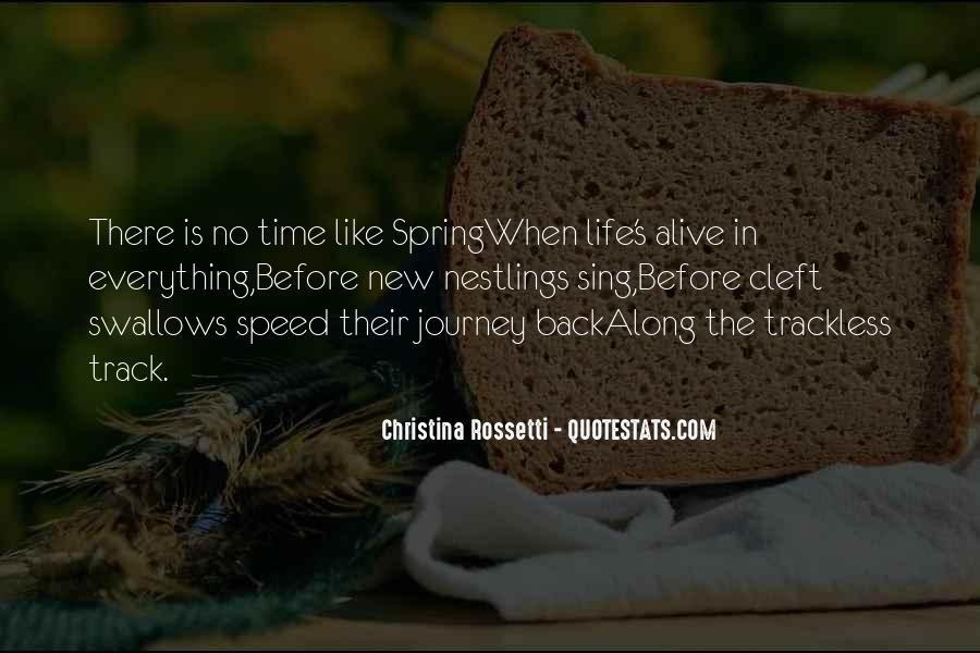Quotes About New Life In Spring #878586
