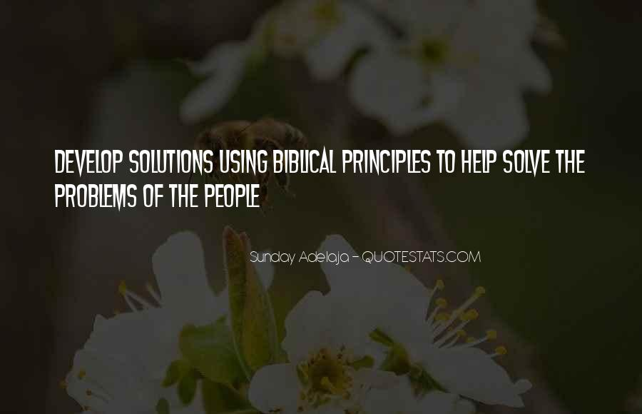 Quotes About Money Solving Problems #1228969