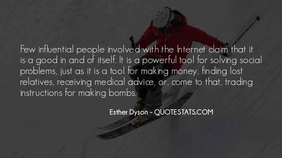 Quotes About Money Solving Problems #1846537