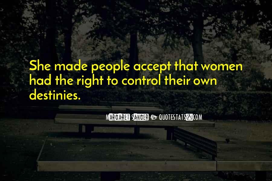 Quotes About Accepting What You Can't Control #1200299