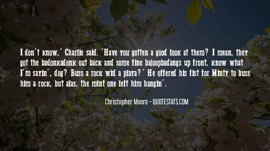 Quotes About Having Something Good In Front Of You #528505