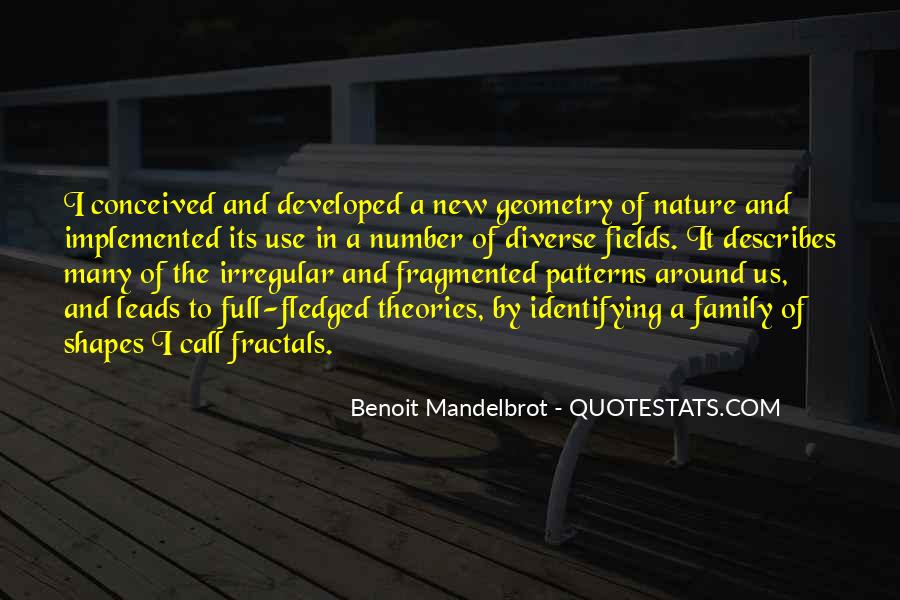 Quotes About Geometry In Nature #1409307