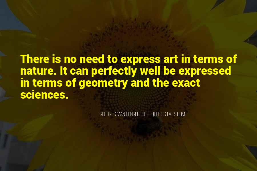 Quotes About Geometry In Nature #185179