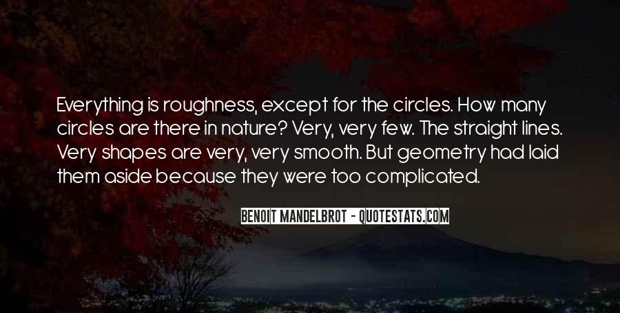 Quotes About Geometry In Nature #609528