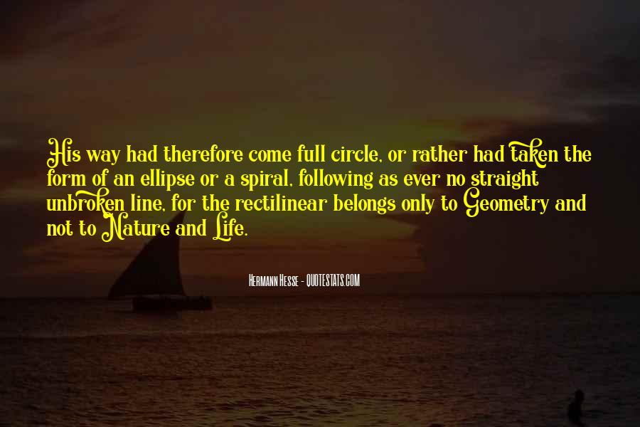 Quotes About Geometry In Nature #763617