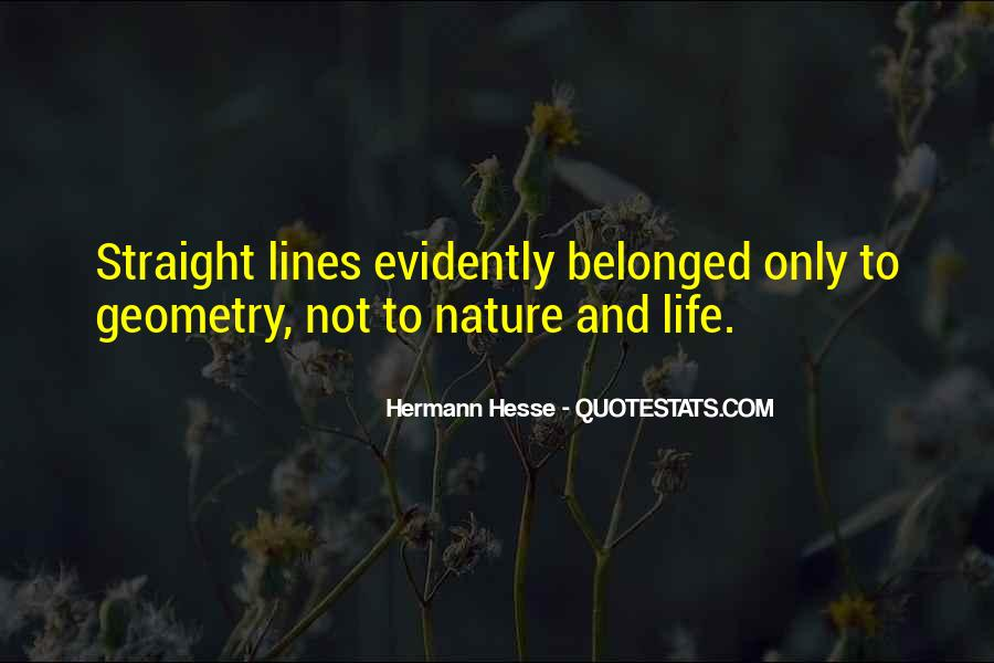 Quotes About Geometry In Nature #96723