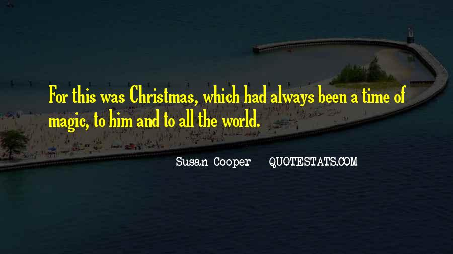 Quotes About Christmas Magic #1264135