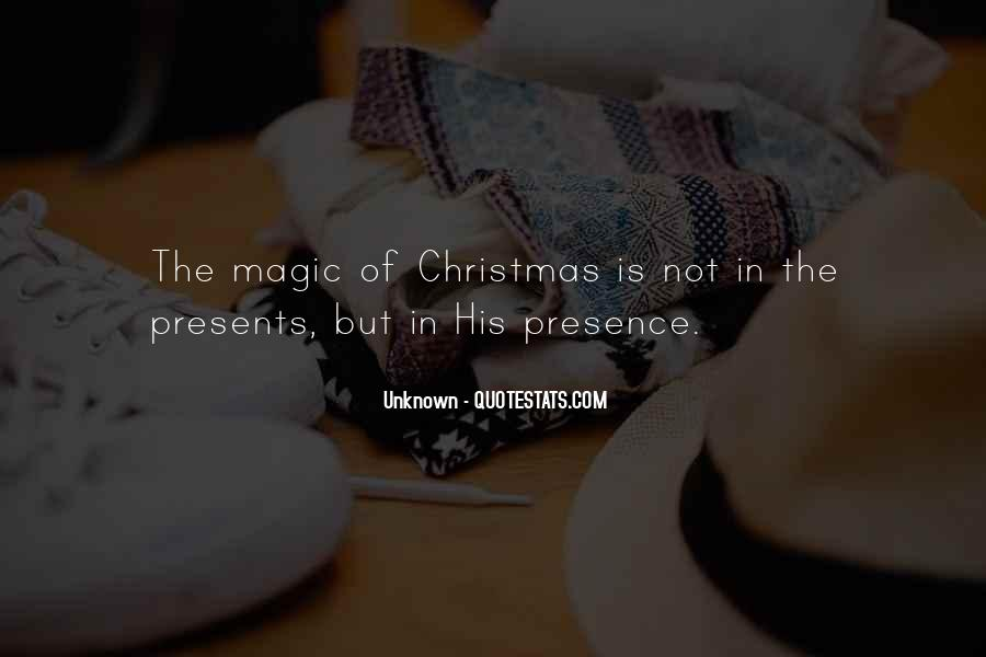Quotes About Christmas Magic #1377510