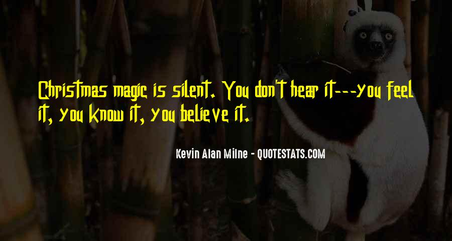 Quotes About Christmas Magic #1596543