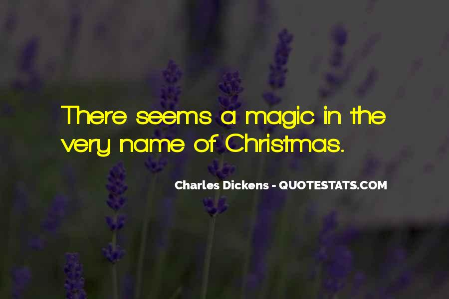 Quotes About Christmas Magic #1661327