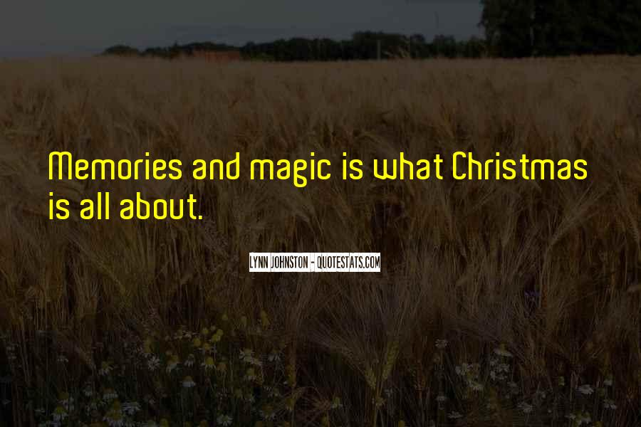 Quotes About Christmas Magic #215231
