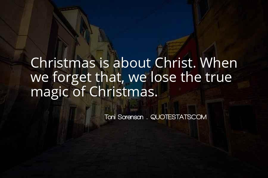 Quotes About Christmas Magic #74474