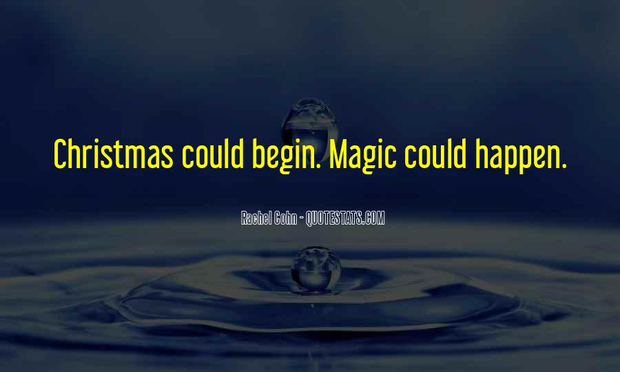 Quotes About Christmas Magic #946381