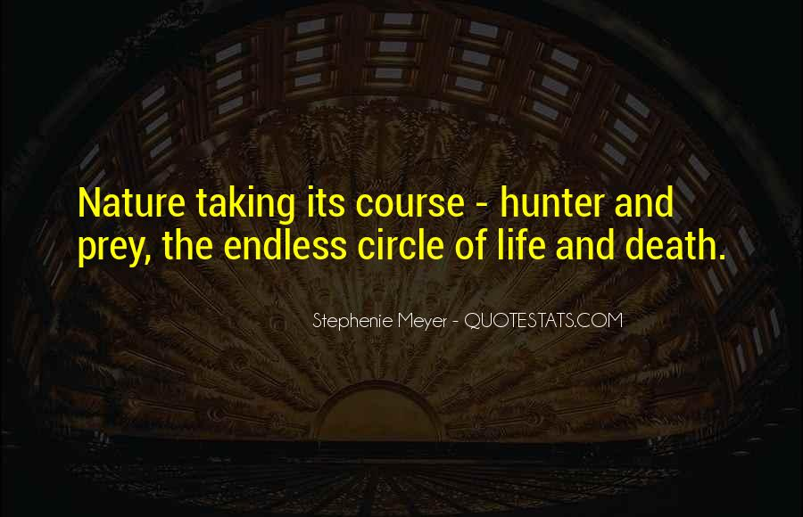 Quotes About The Hunter And Prey #373446
