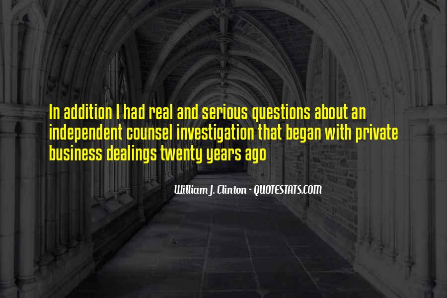 Quotes About No Stupid Questions #964225