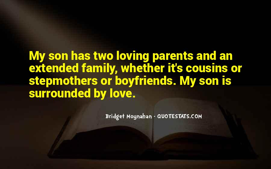 Quotes About Parents And Son #1568567