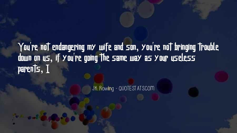 Quotes About Parents And Son #1739744