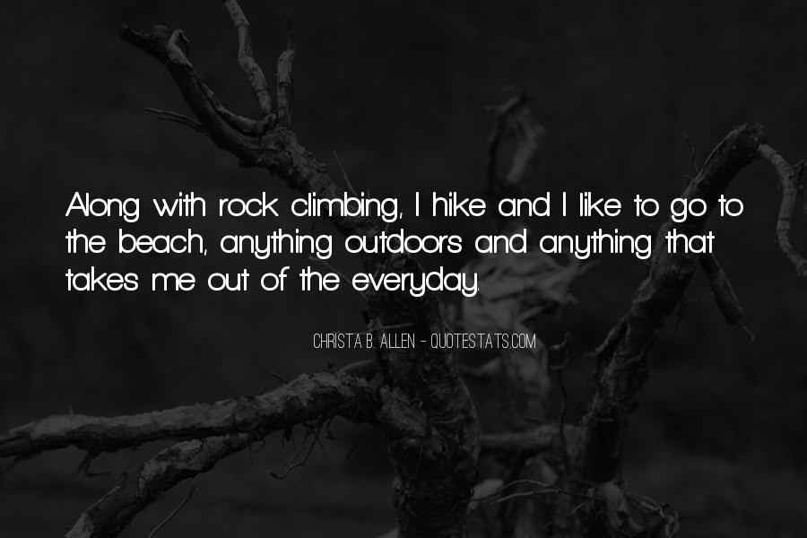 Quotes About Rock Climbing #157240