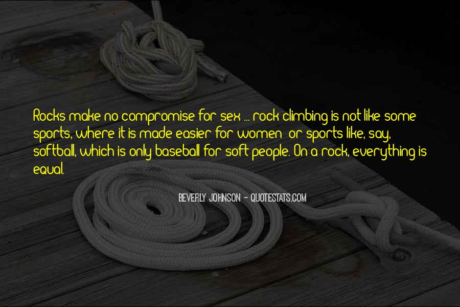 Quotes About Rock Climbing #176133