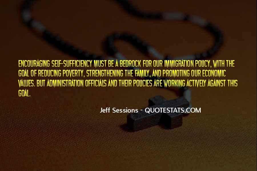 Quotes About Immigration Policies #1122846