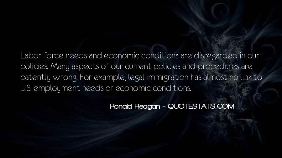 Quotes About Immigration Policies #1792531