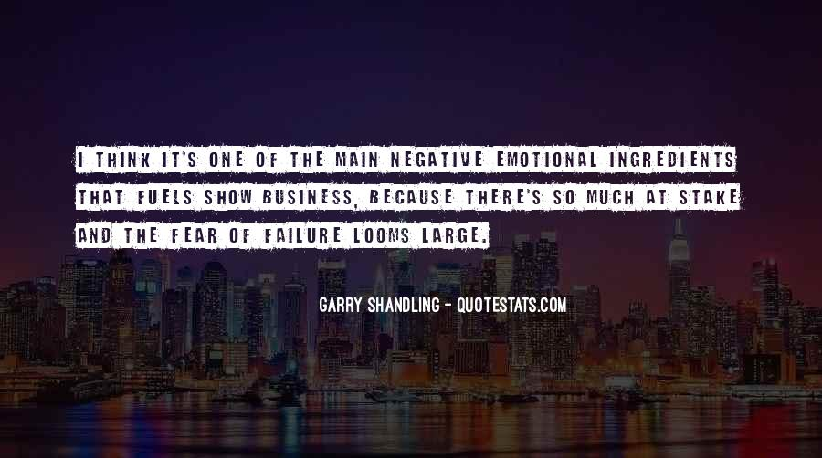 Quotes About Fear And Failure #104519