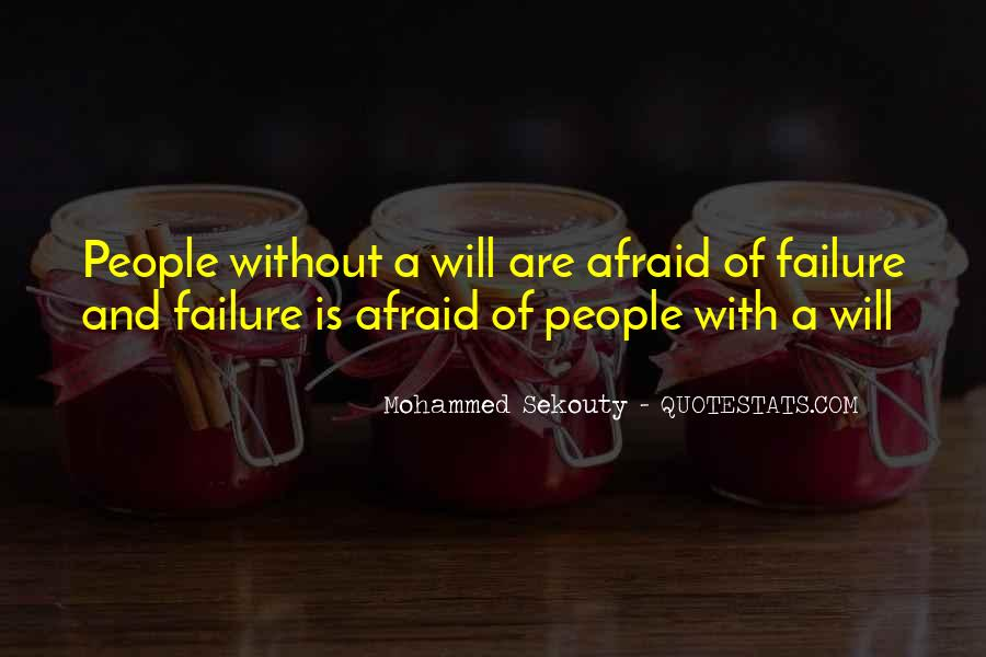 Quotes About Fear And Failure #170822