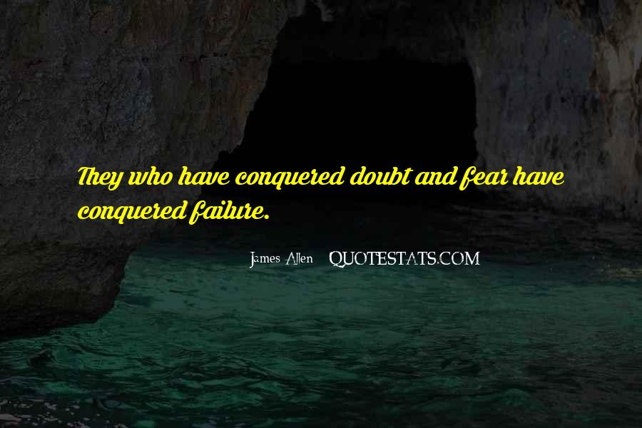 Quotes About Fear And Failure #243248