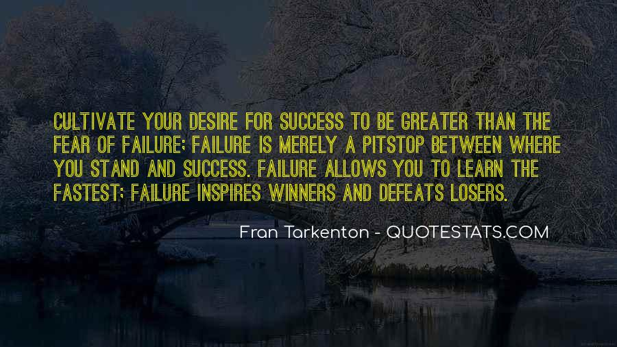 Quotes About Fear And Failure #278196