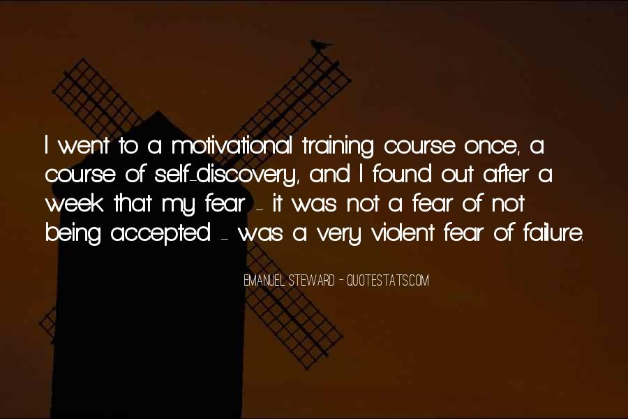 Quotes About Fear And Failure #286125