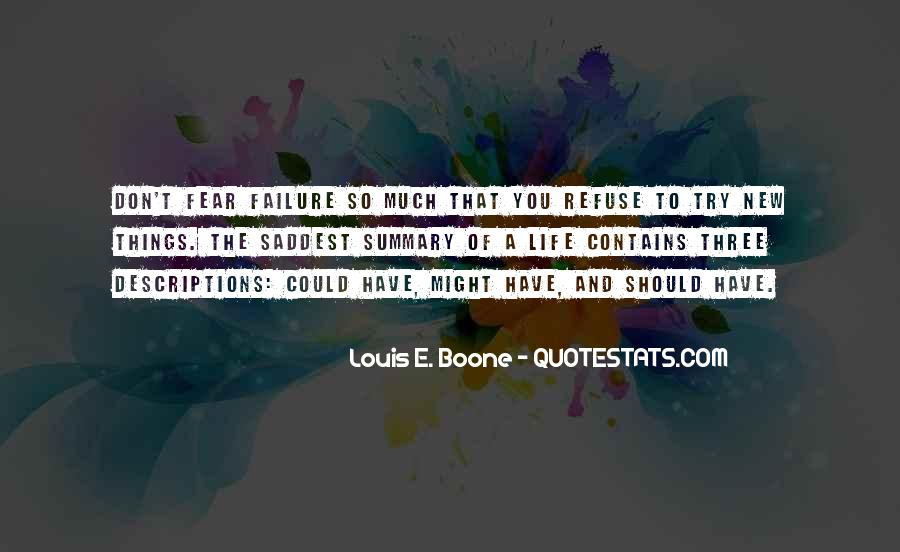 Quotes About Fear And Failure #442617