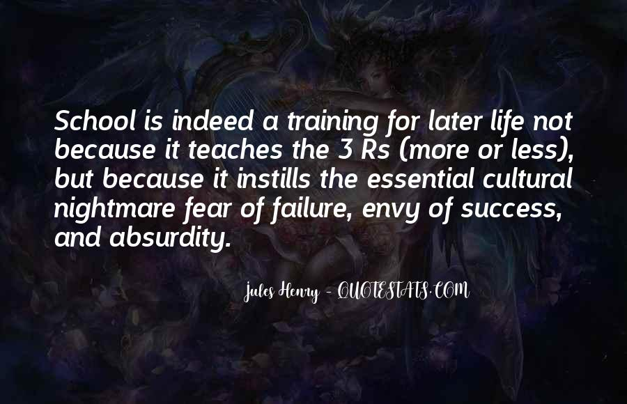 Quotes About Fear And Failure #479721