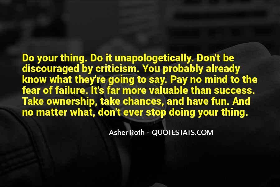 Quotes About Fear And Failure #577474