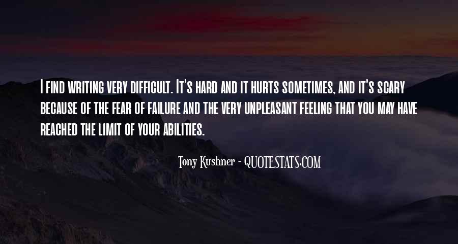 Quotes About Fear And Failure #639025