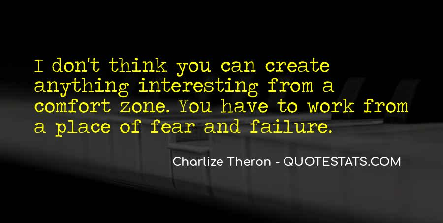 Quotes About Fear And Failure #755428