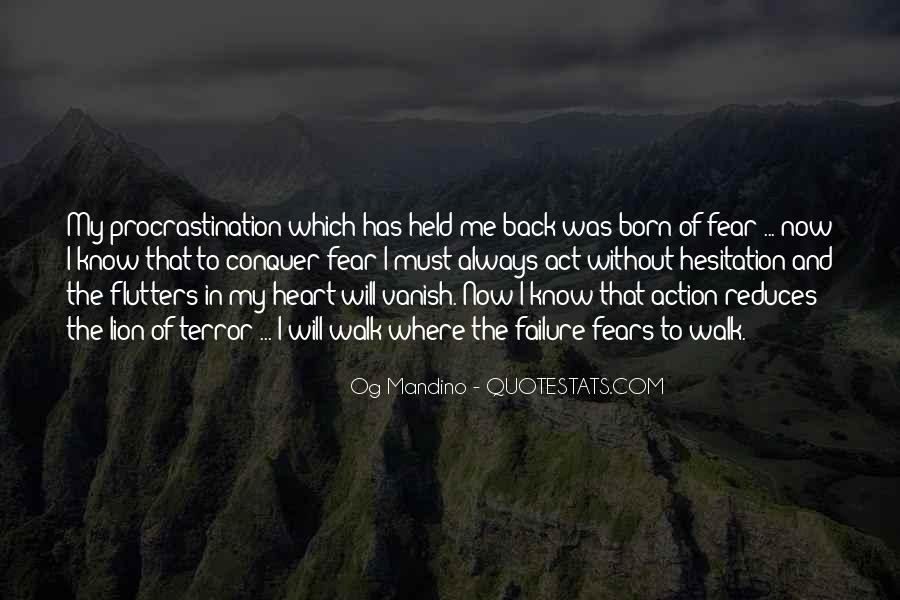 Quotes About Fear And Failure #763893