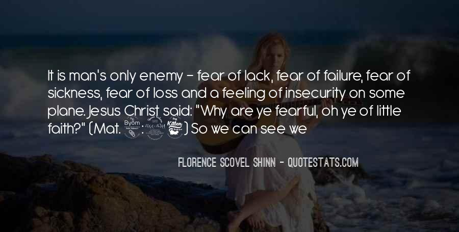 Quotes About Fear And Failure #769121
