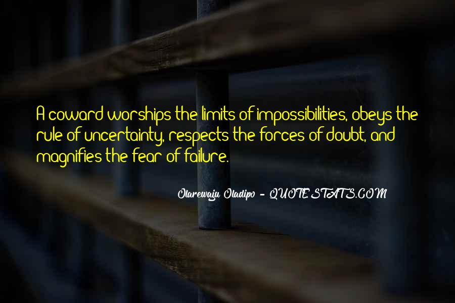 Quotes About Fear And Failure #789968