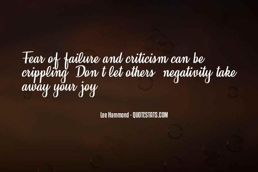 Quotes About Fear And Failure #803173