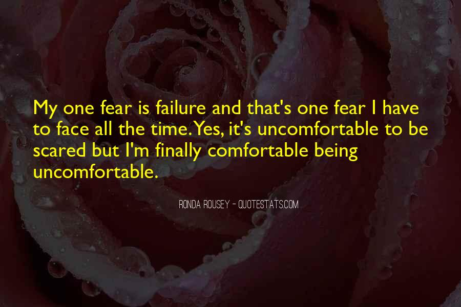Quotes About Fear And Failure #844726
