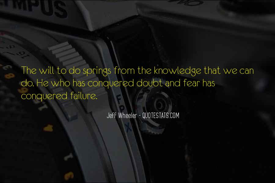 Quotes About Fear And Failure #88490