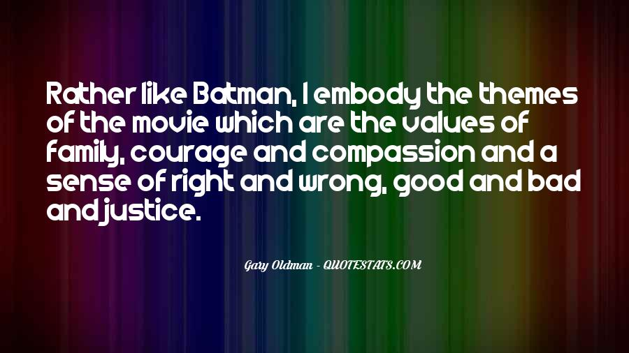 Quotes About Bad Values #733964