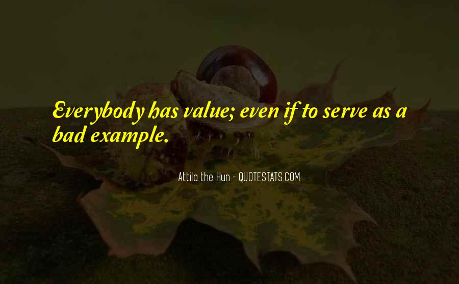 Quotes About Bad Values #888551