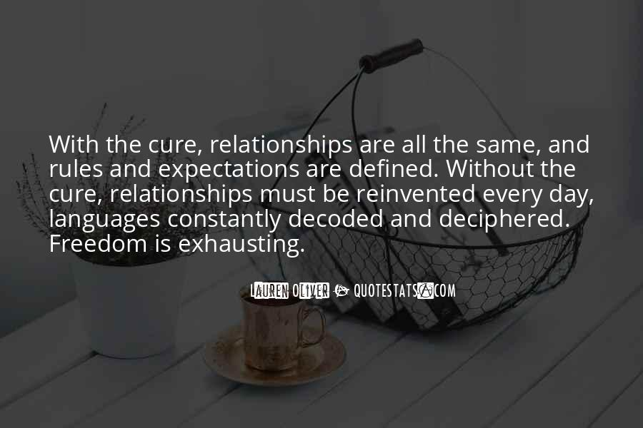 Quotes About Rules In Relationships #1772036