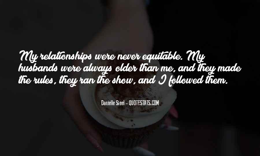 Quotes About Rules In Relationships #1861640
