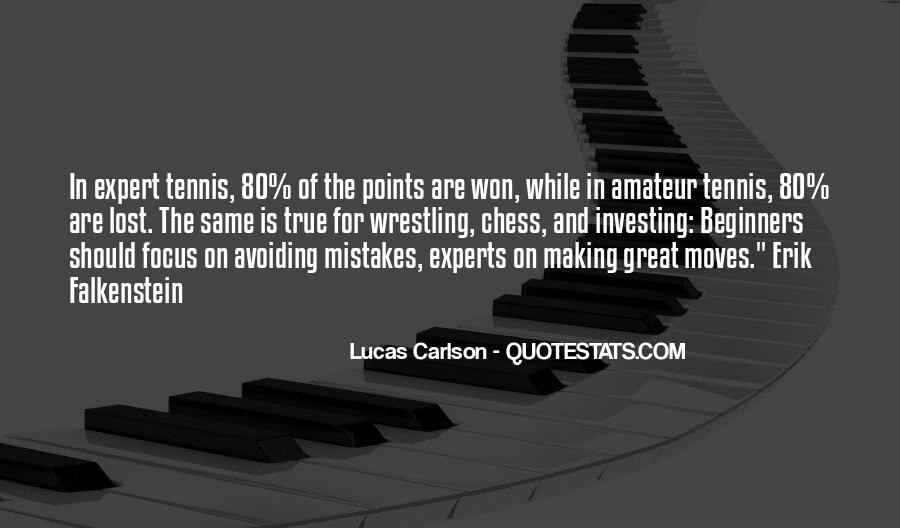 Quotes About Making Points #1455558
