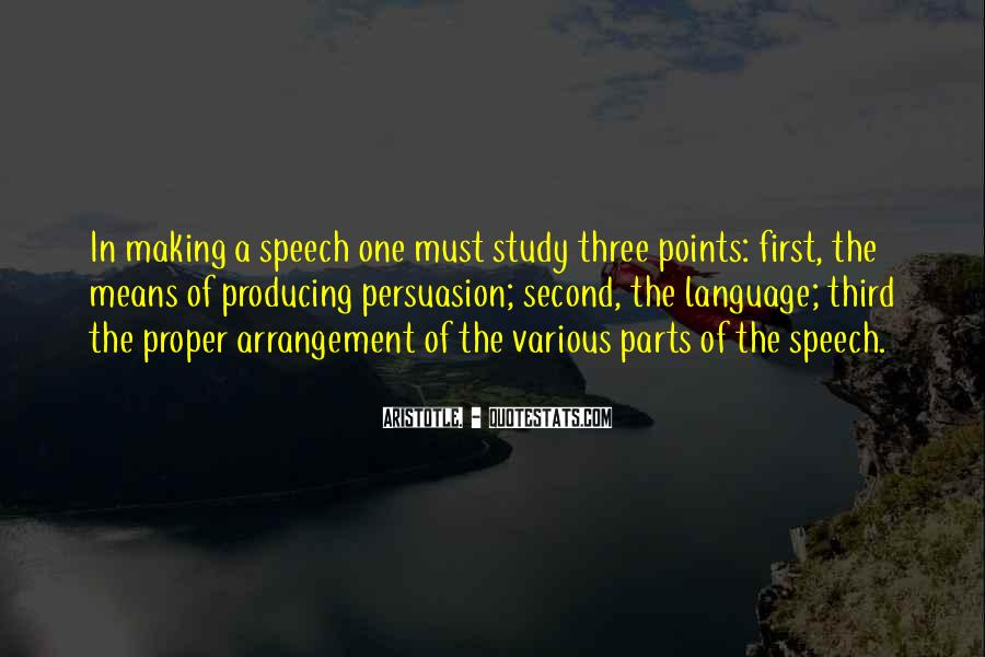 Quotes About Making Points #744187